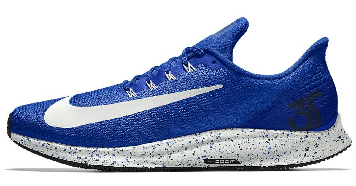 0916a1bbd732 Lyst - Nike Air Zoom Pegasus 35 Id Men s Running Shoe in Blue for Men