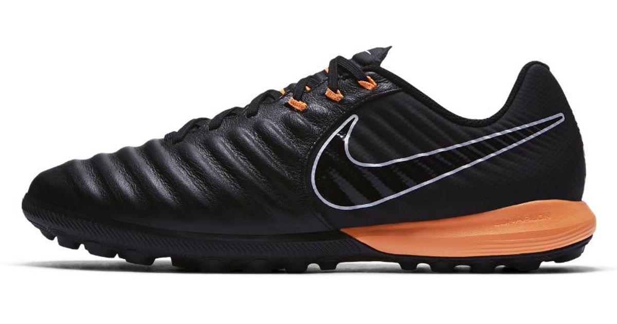 the best attitude a2c27 5aa40 Nike Black Tiempox Lunar Legend Vii Pro Turf Soccer Cleats for men