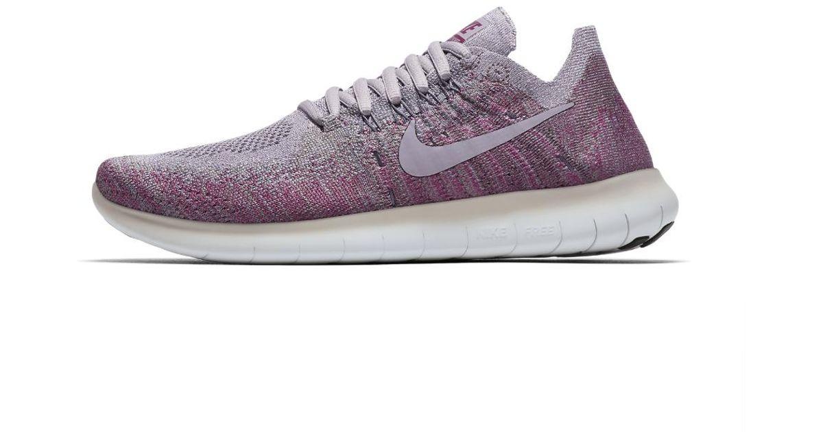 30907a27e1631a Lyst - Nike Free Rn Flyknit 2017 Women s Running Shoe