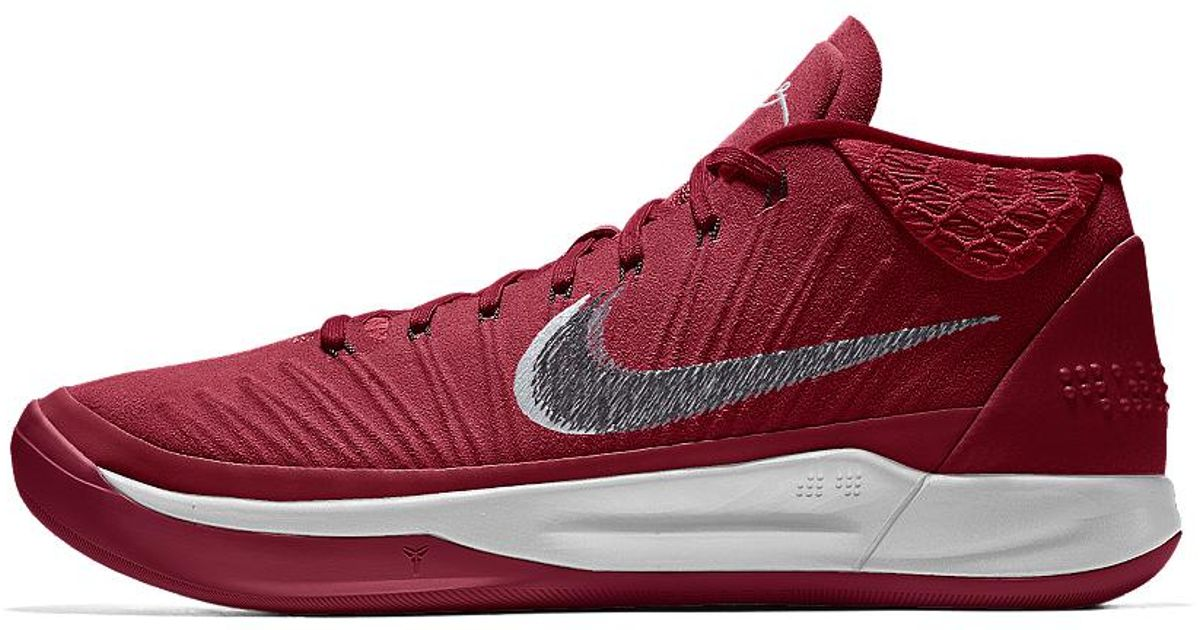 buy online d3612 9c6f8 ... best price lyst nike kobe ad id mens basketball shoe in red for men  9d061 2825a