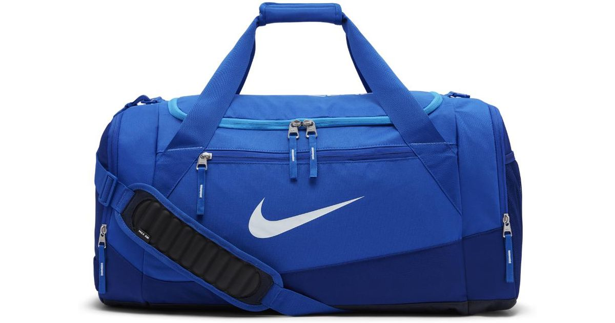 Lyst - Nike Hoops Elite Max Air Team (large) Basketball Duffel Bag (blue)  in Blue for Men ad7ee58fc