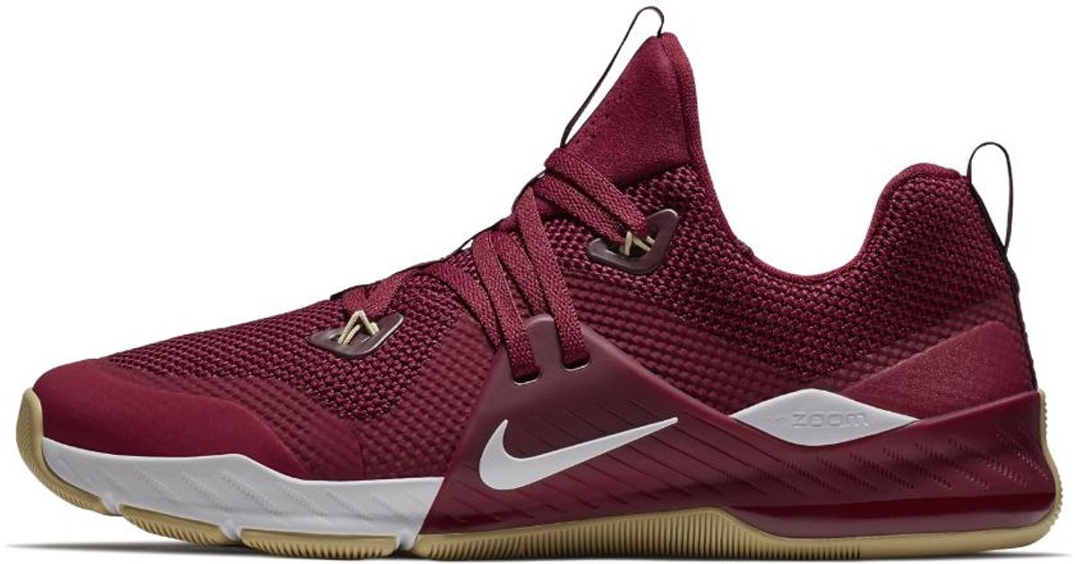 3fb8abf40281c Fsu Pinterest Nike  Lyst - Nike Zoom Command College (florida State) Training  Shoe in Red for Men ...