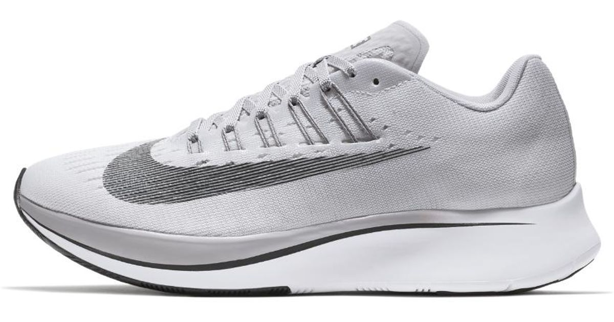 factory authentic 9335a b1d3b Lyst - Nike Zoom Fly Womens Running Shoe in Gray