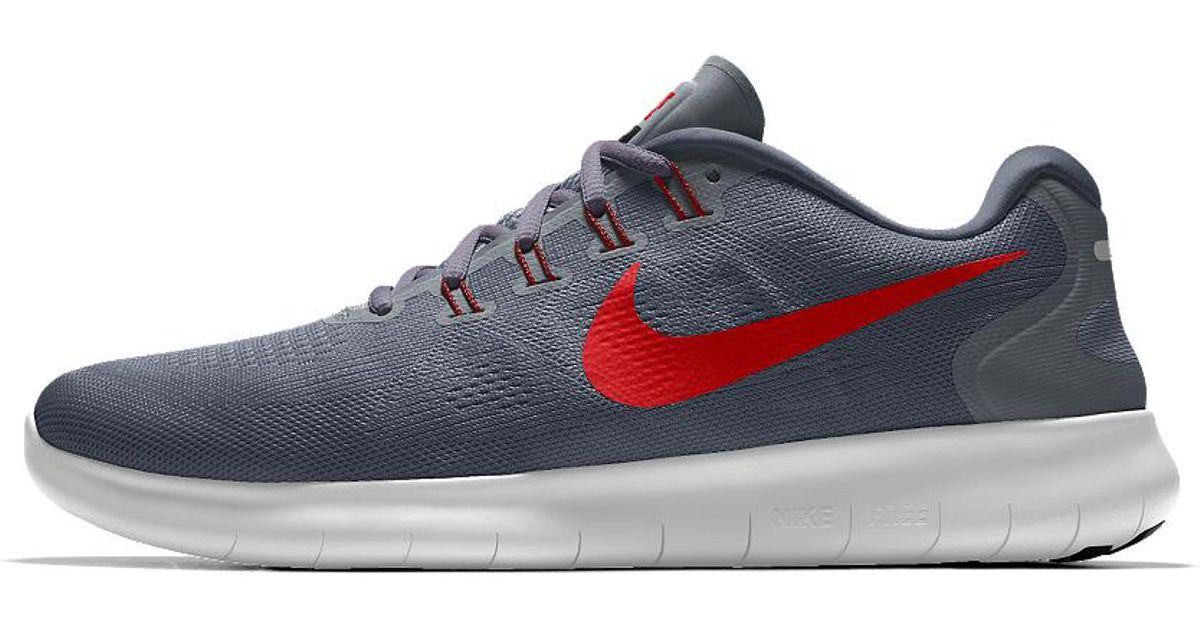 big sale 819b4 26234 ... Lyst - Nike Free Rn 2017 Essential Id Mens Running Shoe in G ...
