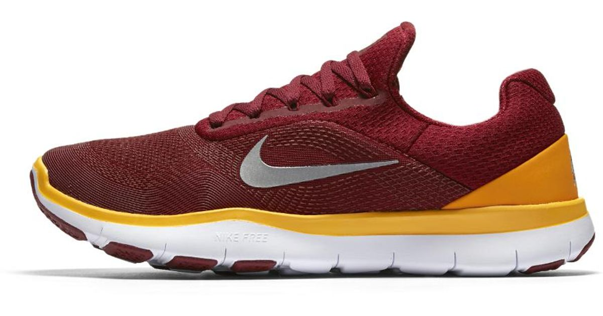 f3c2e84aed ... netherlands lyst nike free trainer v7 nfl redskins training shoe in red  for men 93dc0 05a2e