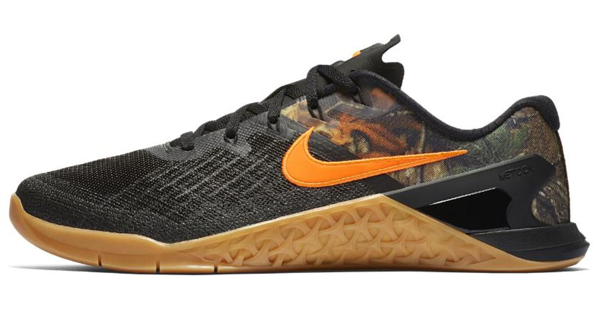 d7973cae9b70 Lyst - Nike Metcon 3 Realtree Men s Training Shoe in Black for Men