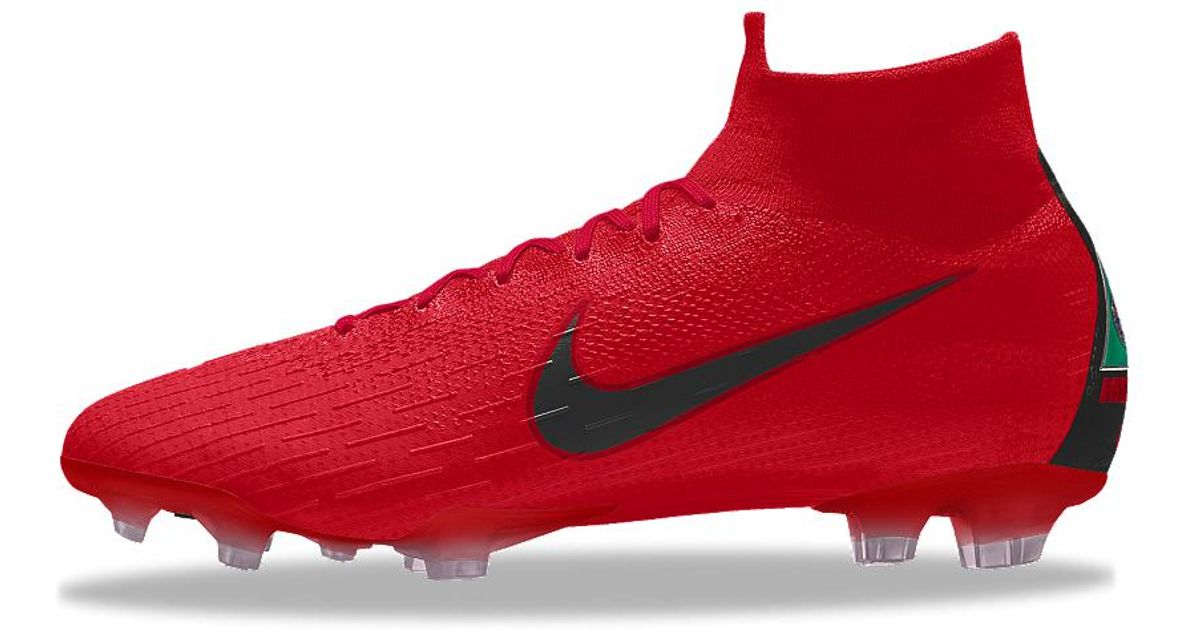 new styles 996df 74047 Nike Red Mercurial Superfly 360 Elite Fg Id Firm-ground Soccer Cleats for  men