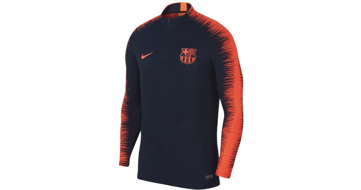 Lyst - Nike Fc Barcelona Aeroswift Strike Drill Men's Soccer Top in Blue for  Men