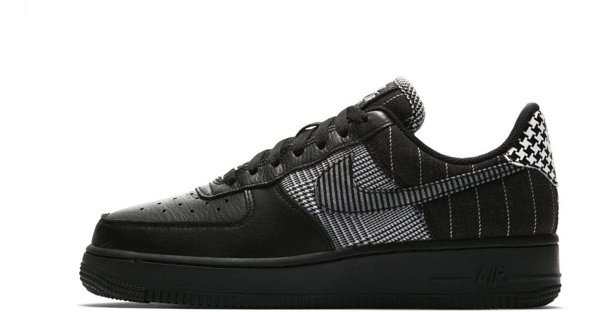 économiser 51424 c911f Chaussure Air Force 1 Low Contrast Check pour Femme Nike en coloris Black