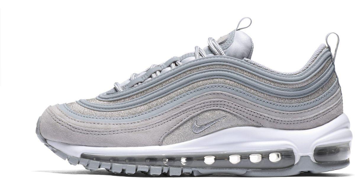 wholesale dealer 96b5d be225 Nike Gray Air Max 97 Glitter Shoe