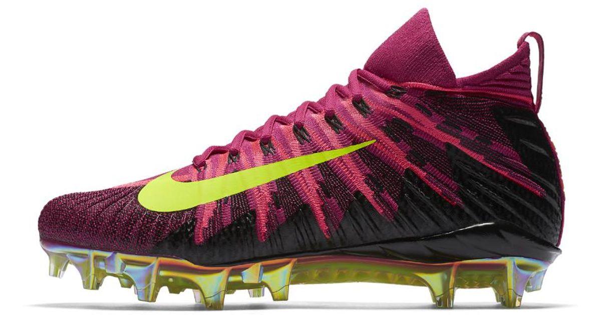super popular fb2a7 5a798 Lyst - Nike Alpha Menace Elite Mens Football Cleat in Pink f