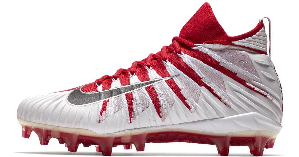 best website 1f8ae 6219e Lyst - Nike Alpha Menace Elite Mid Mens Football Cleat in Re