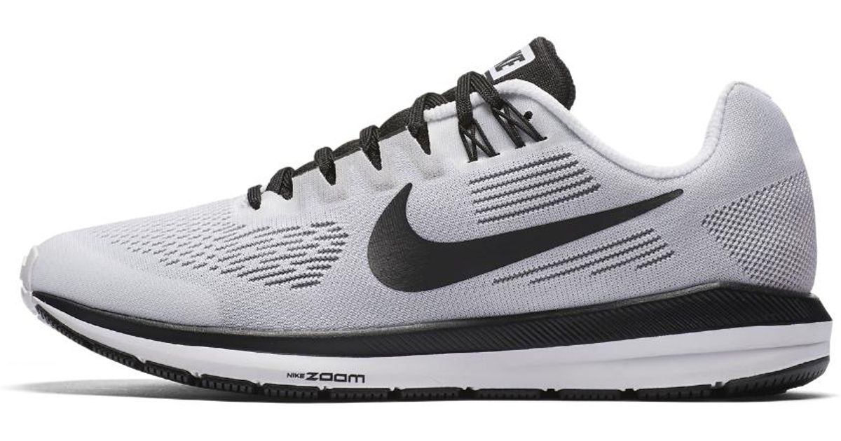 1336cba517868 Lyst - Nike Air Zoom Structure 21 Le Women s Running Shoe in White