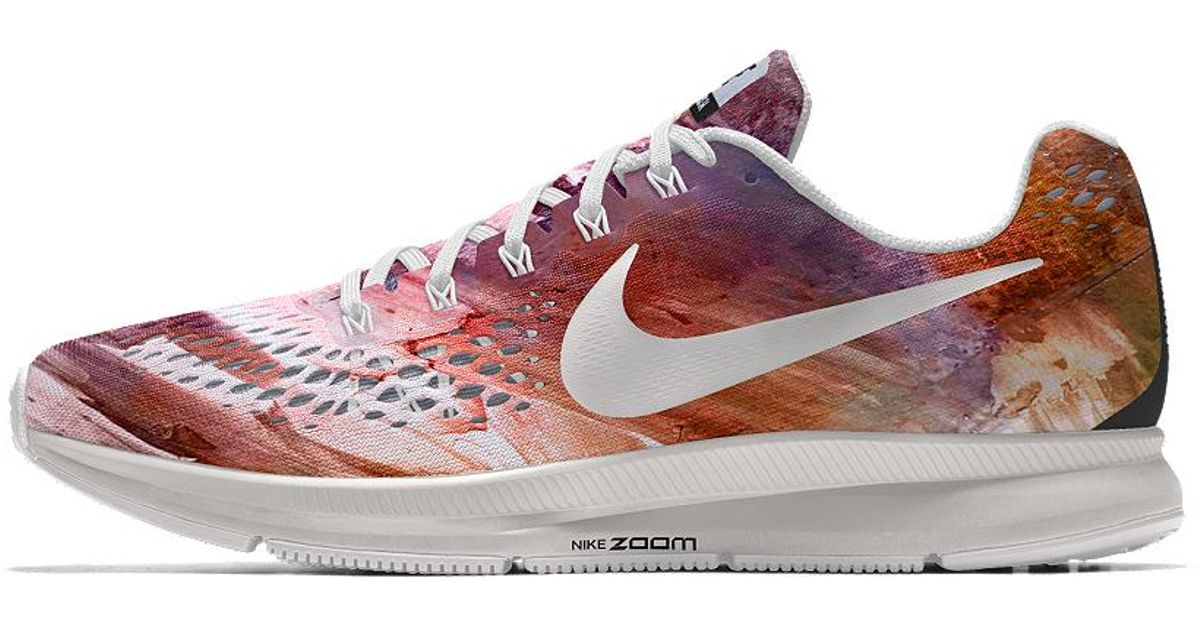 new product 519a4 56272 ... discount lyst nike air zoom pegasus 34 gpx id womens running shoe in  purple 39891 e2d39