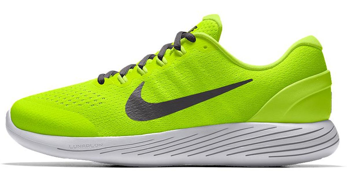 online retailer 7095e f0c9c Nike Yellow Lunarglide 9 Id Men's Running Shoe for men