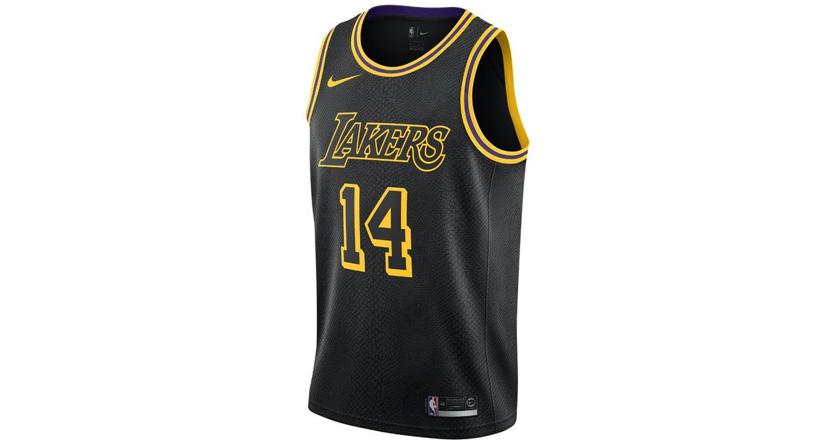 35254a3fa71 Nike Brandon Ingram City Edition Swingman Jersey (los Angeles Lakers) Men s  Nba Connected Jersey in Black for Men - Lyst