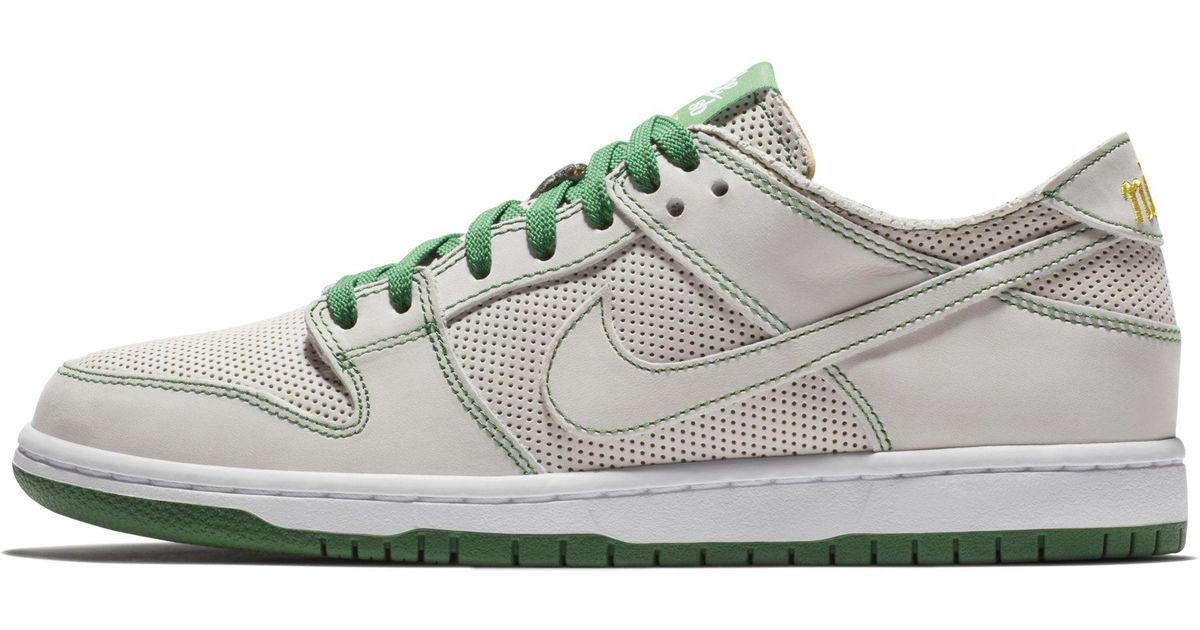 newest 23583 c32c3 Nike White Sb Zoom Dunk Low Pro Deconstructed Qs X Ishod Wair Skateboarding  Shoe for men
