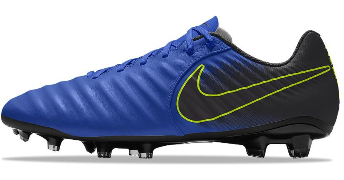 quality design c659c a276a Nike Tiempo Legend 7 Academy Fg Id Firm-ground Soccer Cleats in Blue for  Men - Lyst