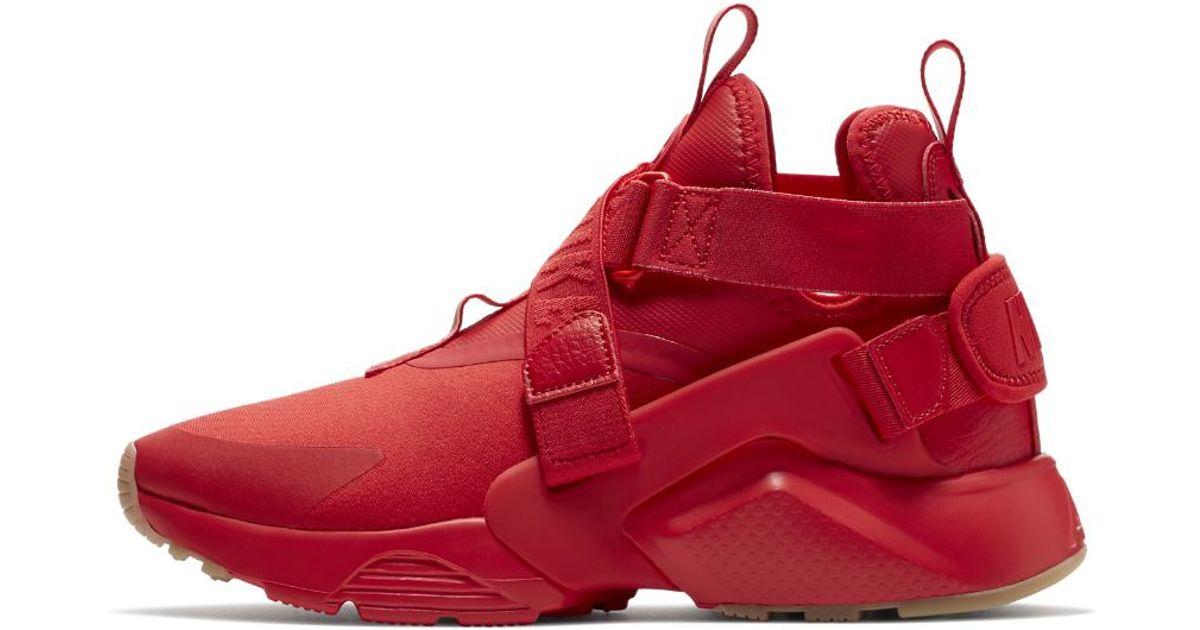 Nike Red Air Huarache City Women's Shoe