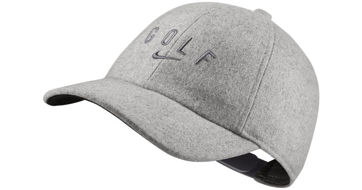 3db95261576d8 Lyst - Nike Aerobill Legacy91 Women s Golf Hat (grey) in Gray