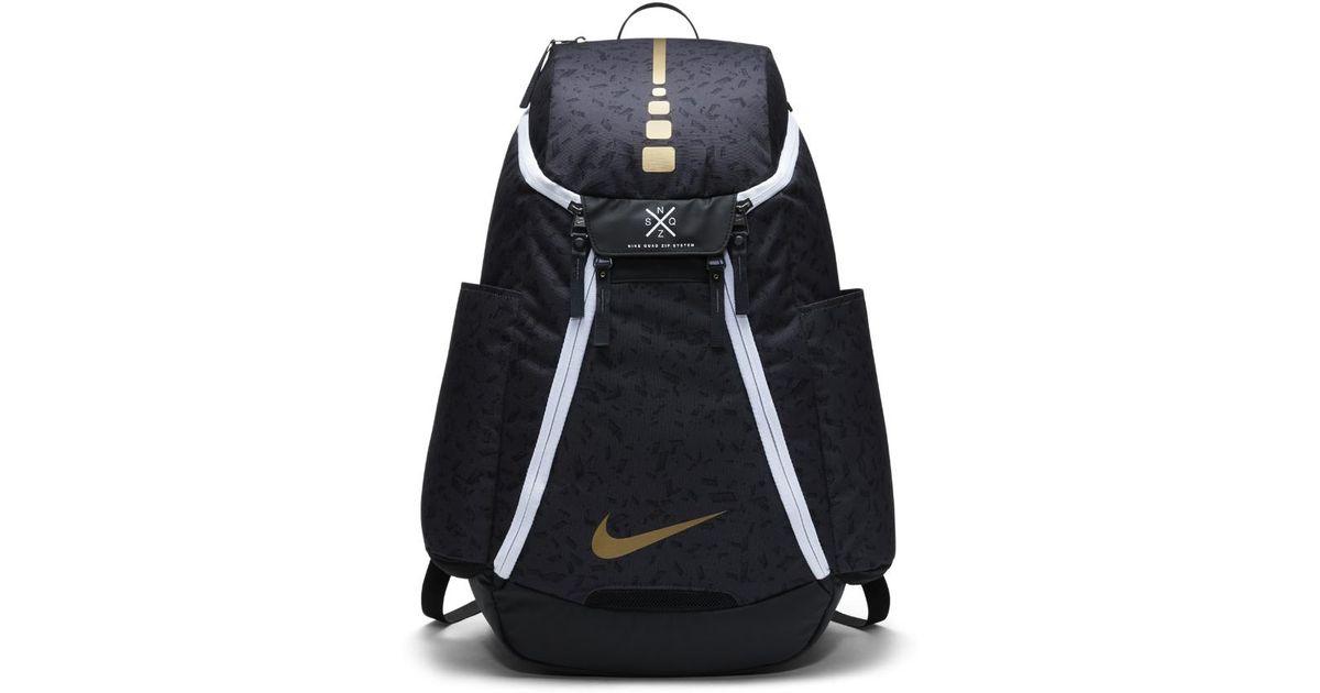 d165566d0d Lyst - Nike Hoops Elite Max Air Team 2.0 Graphic Basketball Backpack (black)  in Black for Men