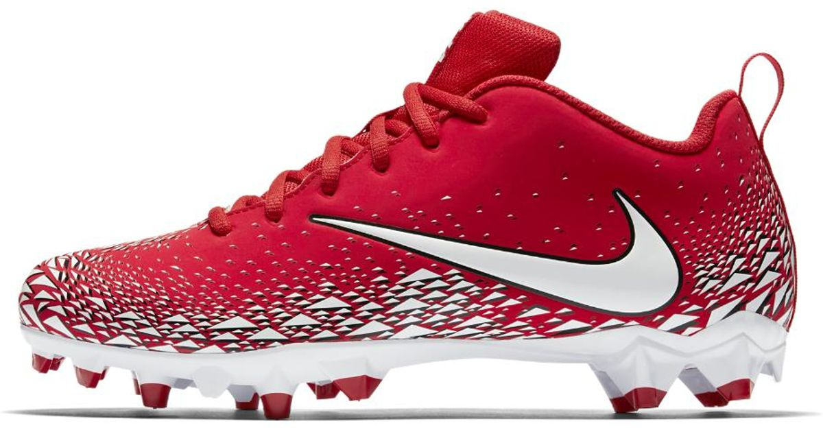 91a7209b5 Nike Vapor Varsity Low Td Men s Football Cleat in Red for Men - Lyst