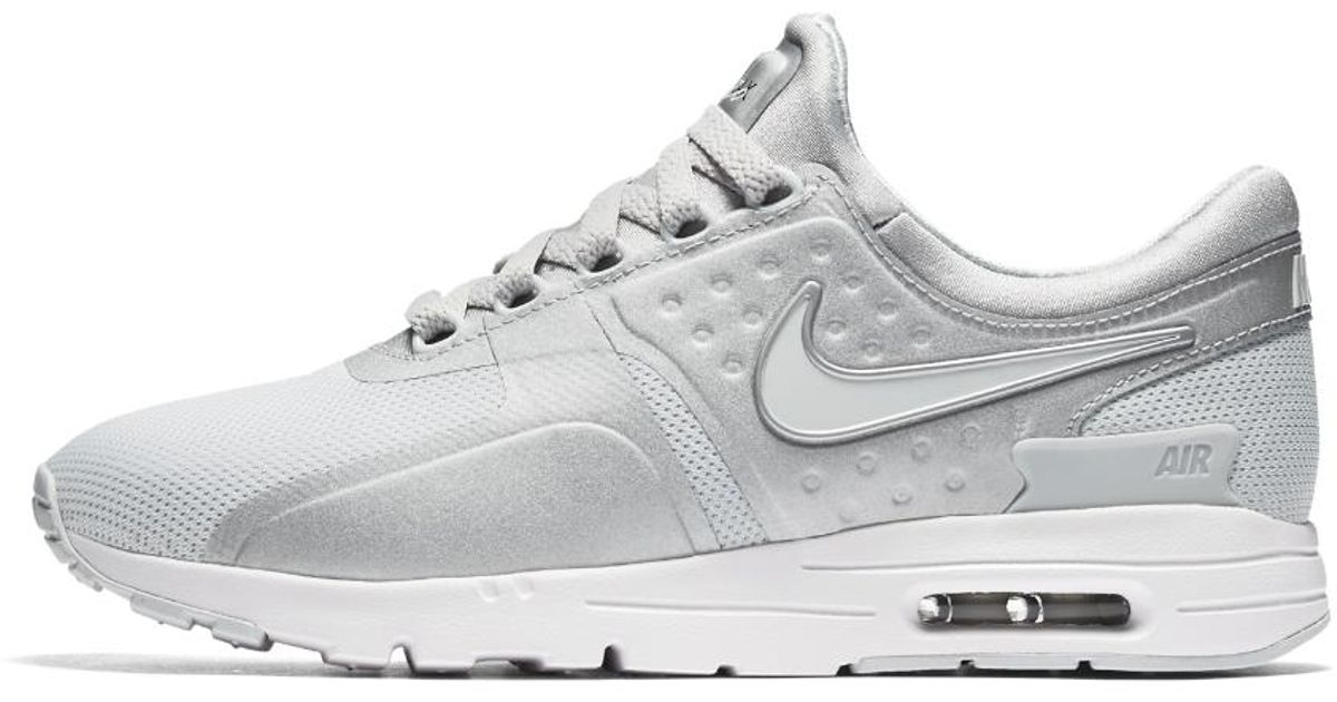 cheap for discount cf805 7de80 Nike - Metallic Air Max Zero Women's Shoe - Lyst