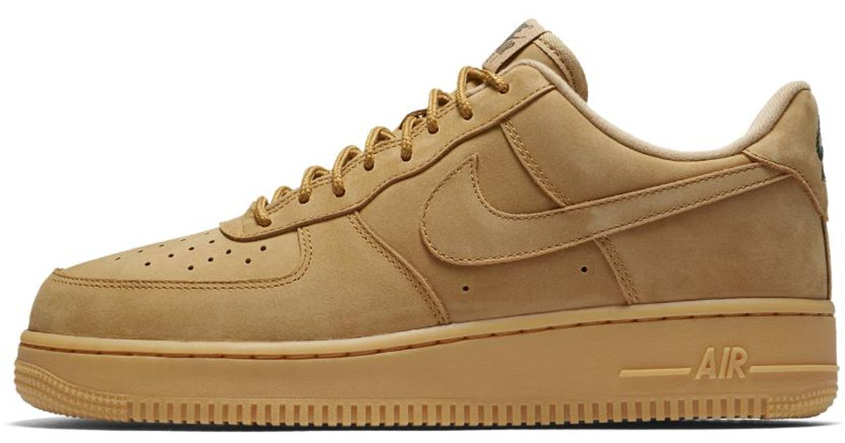 Nike Leather Air Force 1 '07 Wb Men's Shoe in Brown for Men - Lyst