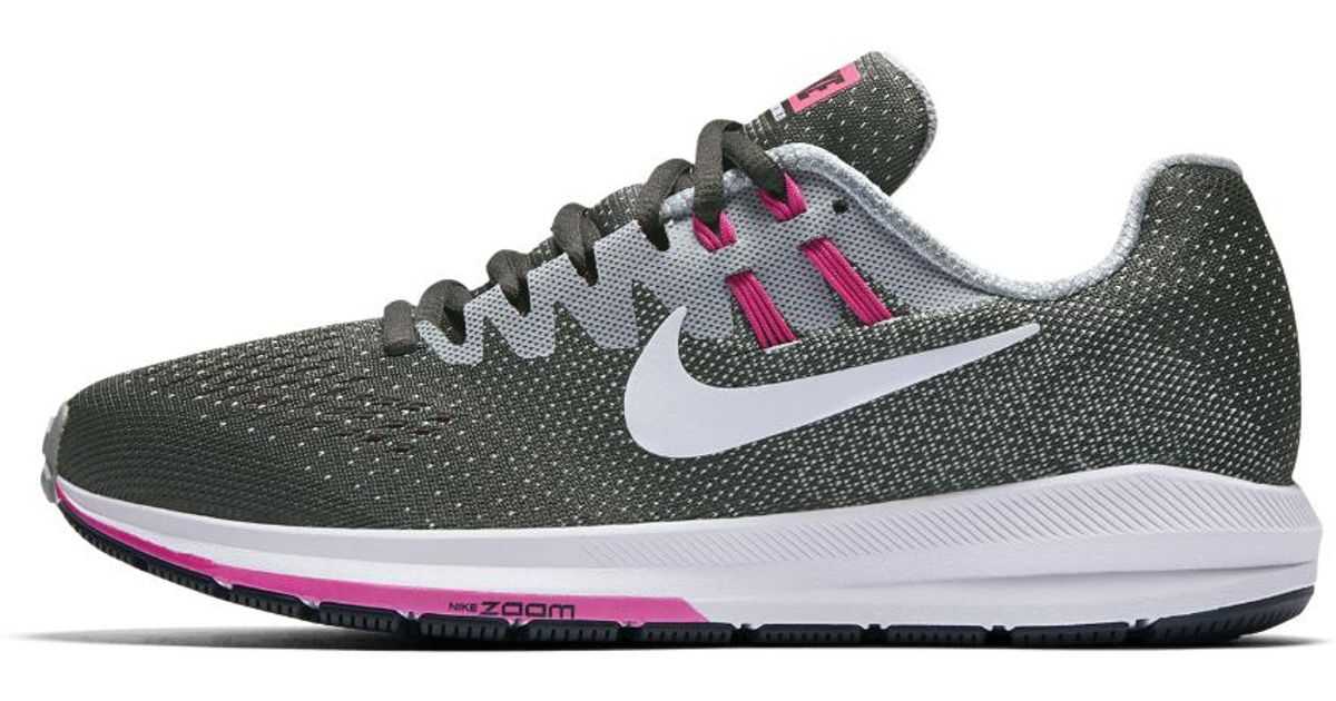 online store 62c0a d760a Lyst - Nike Air Zoom Structure 20 (narrow) Women s Running Shoe in Gray