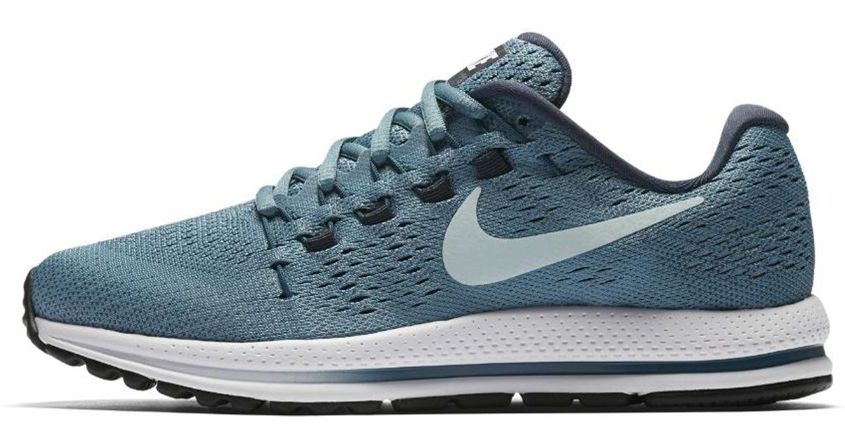 b02247008436 Lyst - Nike Air Zoom Vomero 12 Women s Running Shoe in Blue
