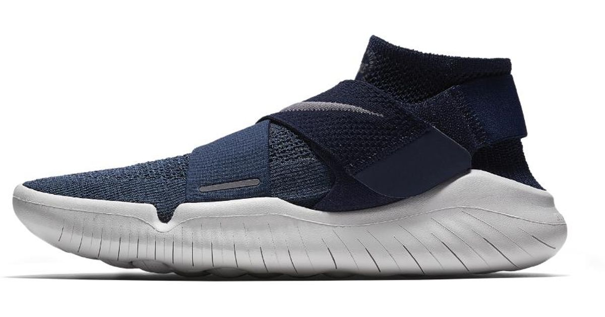 separation shoes 925a0 2cee2 Nike Free Rn Motion Flyknit 2018 Men s Running Shoe in Blue for Men - Lyst