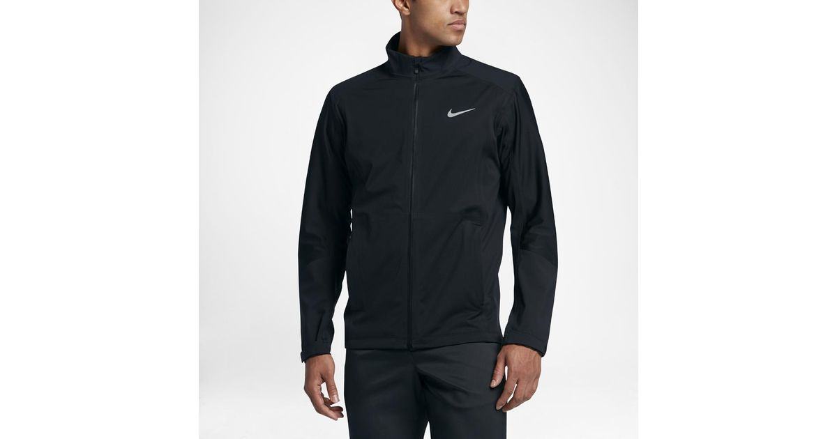 ce2c7d97d64e Lyst - Nike Hyperadapt Storm-fit Full-zip Men s Golf Jacket in Black for Men