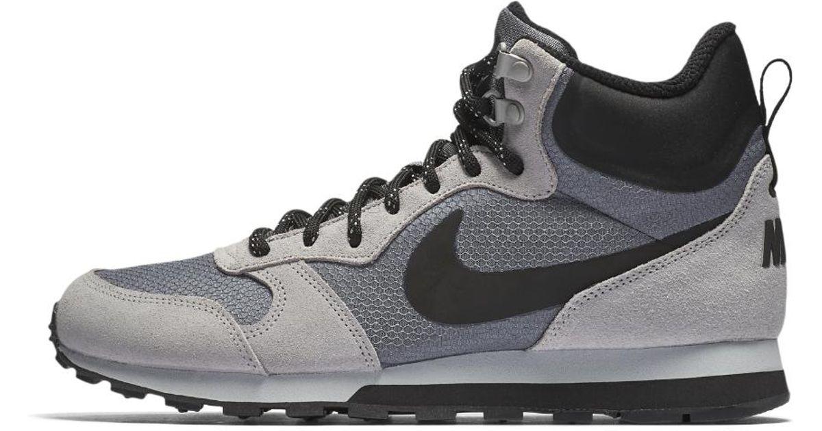 6c6595b3a0833 Lyst - Nike Md Runner 2 Mid Premium Men s Shoe in Gray for Men