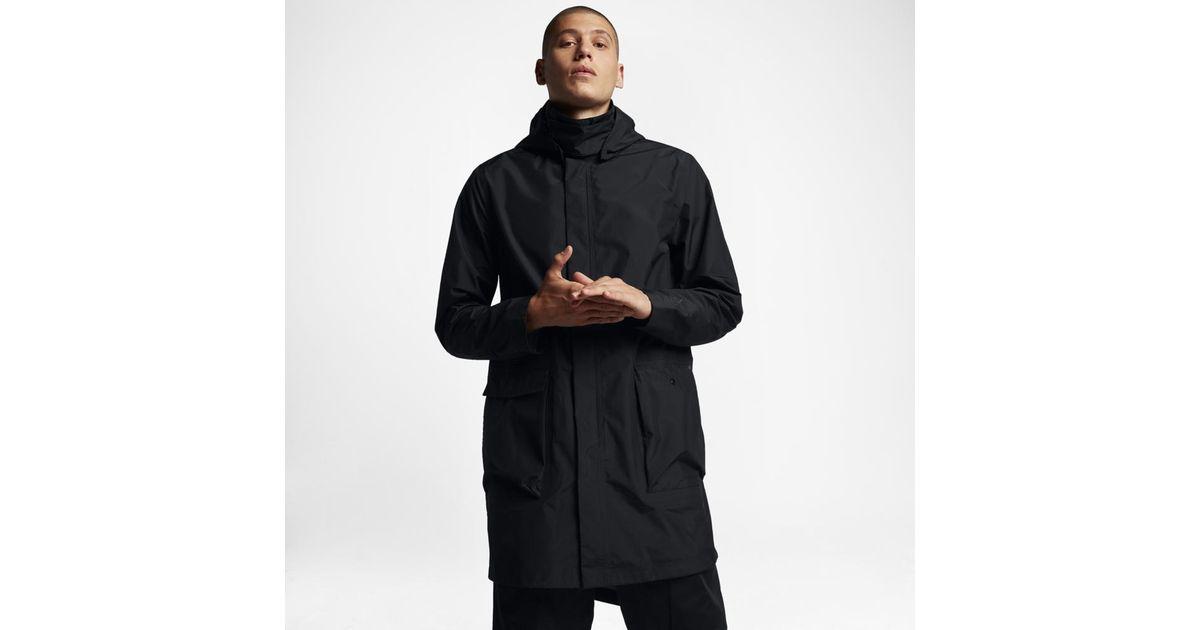 542991ce53c1 Lyst - Nike Essentials Parka Men s Jacket in Black for Men