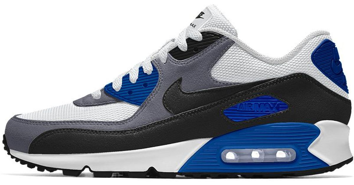 new style c3d4f 336e0 Lyst - Nike Air Max 90 Id Mens Shoe in Blue for Men