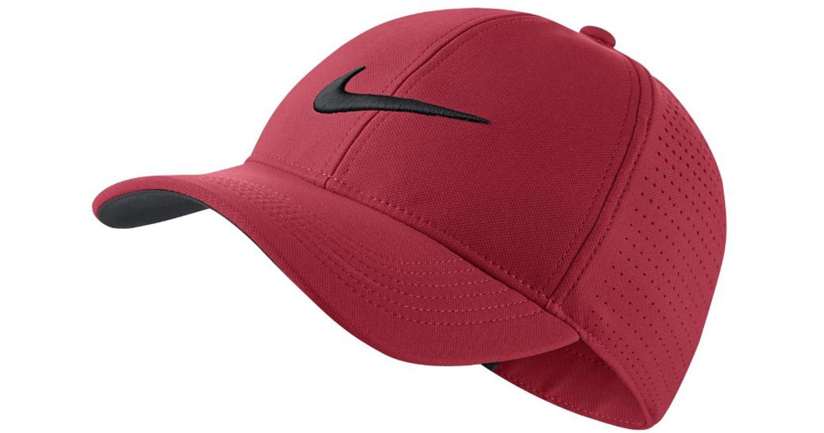 365cc3313 Nike - Legacy 91 Perforated Adjustable Golf Hat (pink) - Clearance Sale for  Men - Lyst