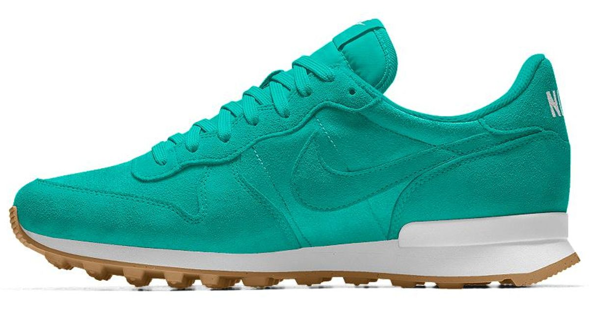 online store 82ade a12ee Lyst - Nike Internationalist Id Women s Shoe in Blue