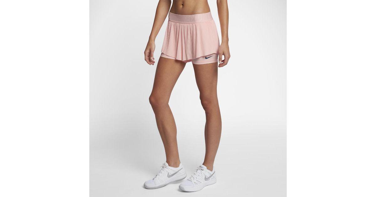 Nike Pink Court Flex Maria Women's Tennis Shorts