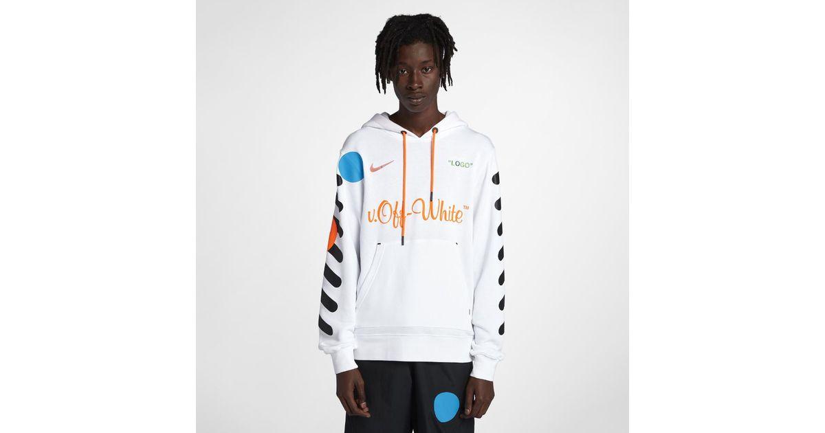 sale retailer 847d3 db372 Nike X Off-white Men's Hoodie for men