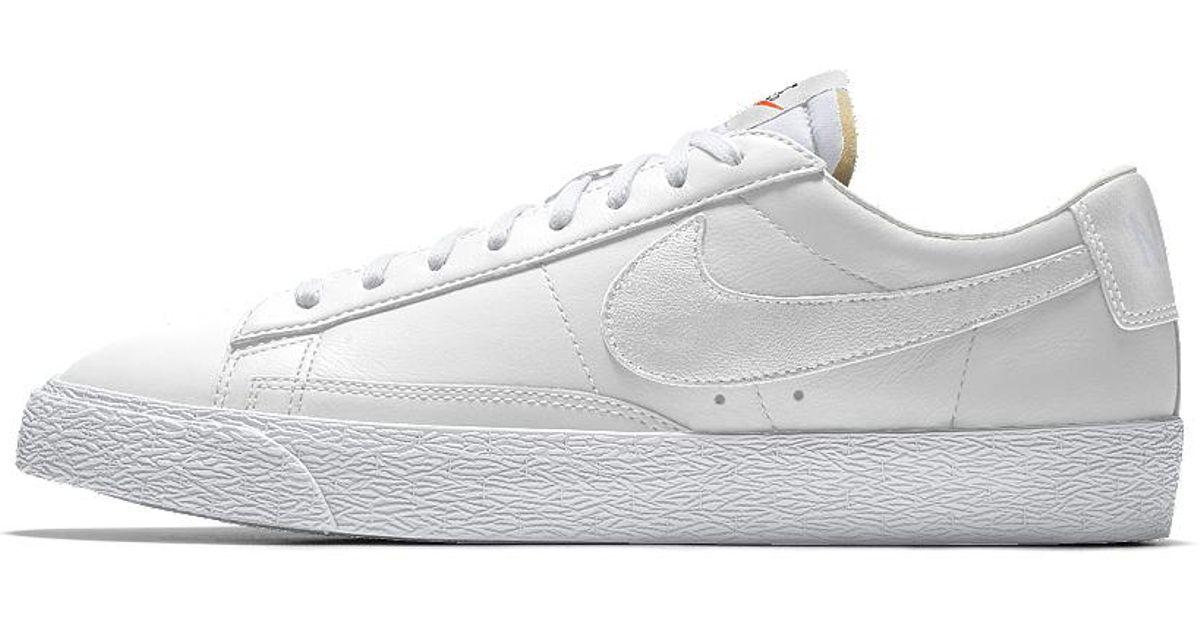 new concept 5b117 1b504 Nike White Blazer Low Id Men's Shoe for men