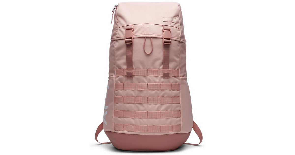 top quality temperament shoes good looking Nike Sportswear Af1 Backpack (pink)