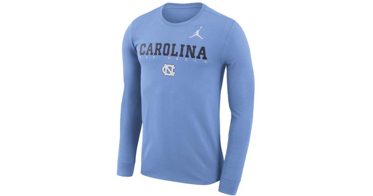 8f3b81432ec3 Lyst - Nike College Dri-fit Facility (unc) Men s Long Sleeve T-shirt ...
