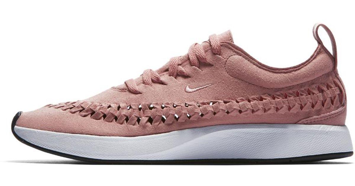 f7289fcae nike-Rust-PinkRust-PinkWhite-Dualtone-Racer-Woven-Womens-Shoe.jpeg