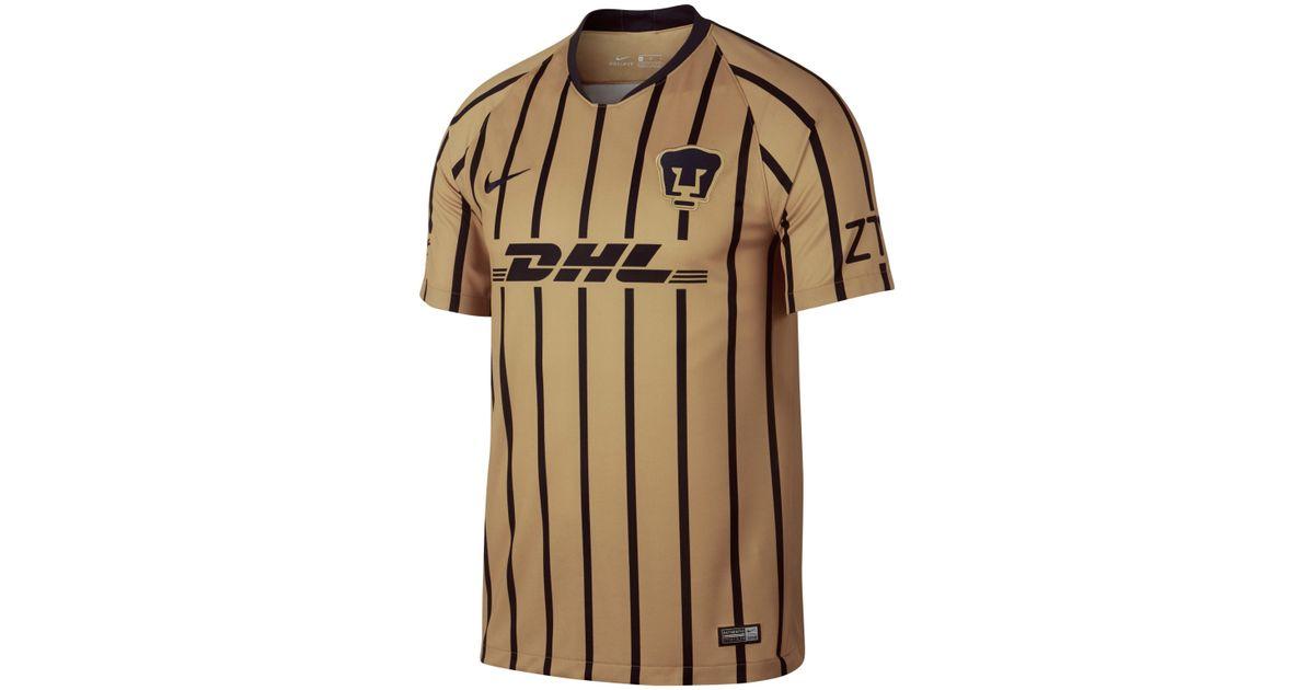 Nike 2018 19 Pumas Unam Stadium Away Football Shirt in Metallic for Men -  Lyst df3e839eb