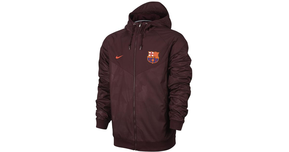 Barcelona In Fc Lyst Red Authentic Windrunner Men s Nike Jacket aSBv1RwqEH aaa862182