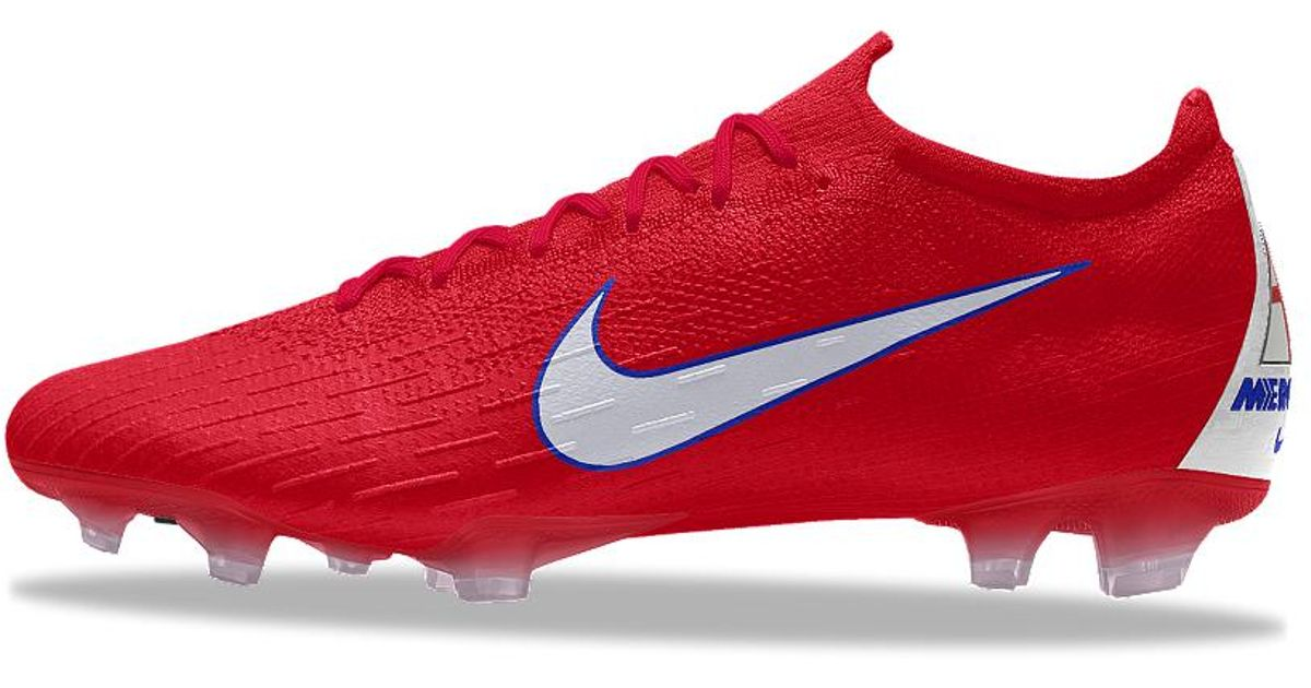 pretty nice f90aa c9dd6 Nike Red Mercurial Vapor 360 Elite Fg Id Firm-ground Soccer Cleats for men