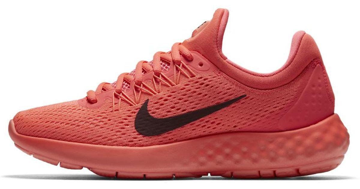 ab364eca16b Lyst - Nike Lunar Skyelux Women s Running Shoe in Red