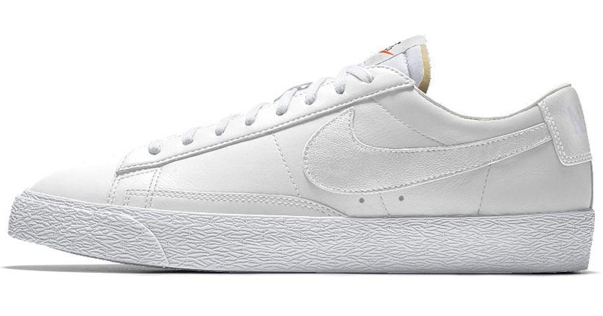 new concept 73e9a b70b0 Nike White Blazer Low Id Men's Shoe for men