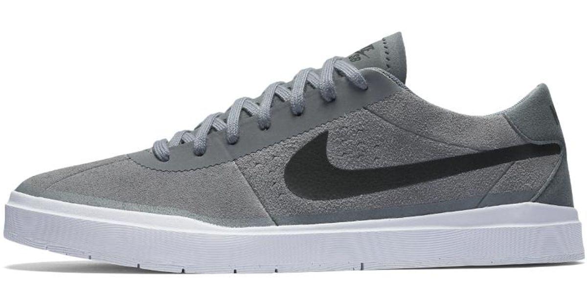 38ddf0359d3b3 Lyst - Nike Sb Bruin Hyperfeel Men s Skateboarding Shoe in Gray for Men