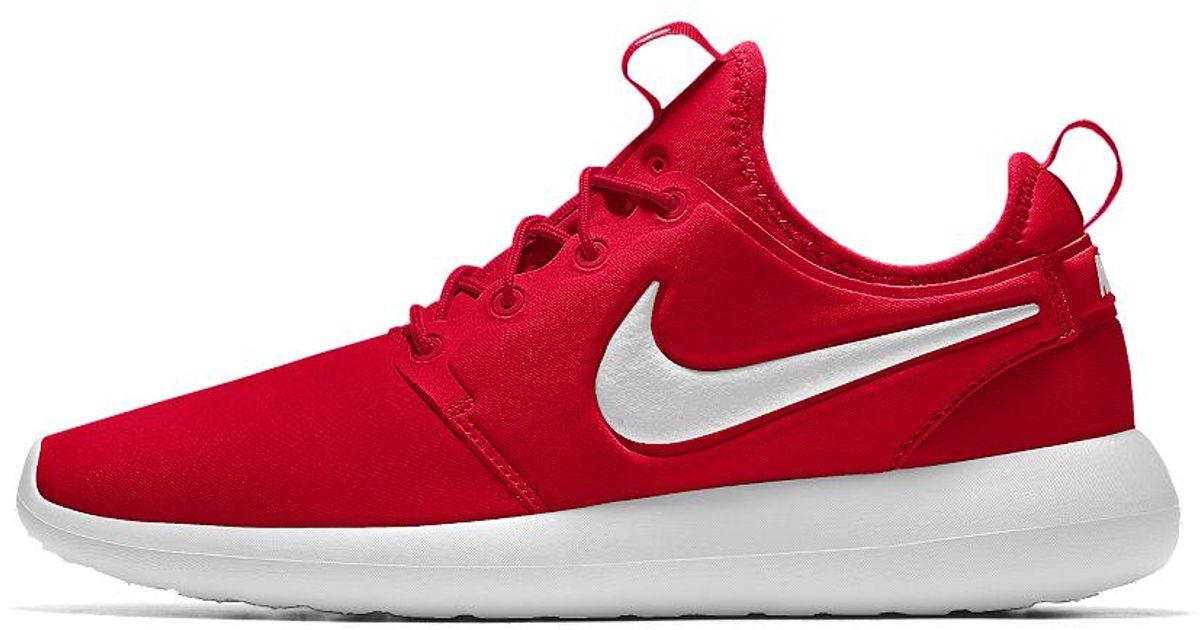 nike roshe one red womens